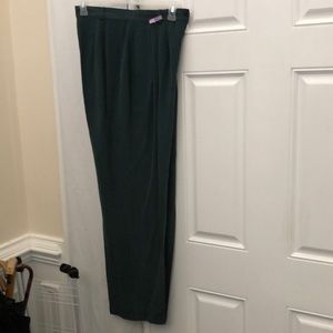 Studio Pants - Ladies Blouse size Xl and silk pants size 14